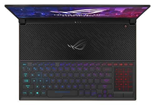 "ASUS ROG Zephyrus S Ultra Slim Gaming Laptop, 15.6"" 144Hz IPS-Type Full HD, GeForce RTX 2080, Intel Core i7-8750H CPU, 16GB DDR4, 512GB PCIe Nvme SSD, Aura Sync RGB, Windows 10 Pro - GX531GX-XS74"