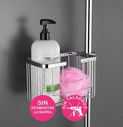 OxenCampos Duschkorb/Ablage für Dusche und Badewanne, ohne Bohren