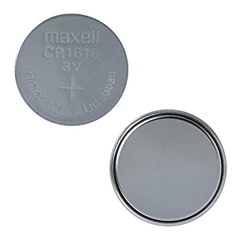 Maxell CR1616 3 Volt Lithium Coin Battery  3 Batteries