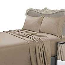 Egyptian Linens 1000 Thread Count Egyptian Cotton 4pc 1000tc Bed