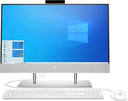 HP 24-dp1002ng - Ordenador Todo en uno (23,8 Pulgadas/Full HD) (Intel Core i7-1165G7, 8 GB DDR4 RAM, 1TB SSD, Intel Graphic, Windows 10), Color Plateado