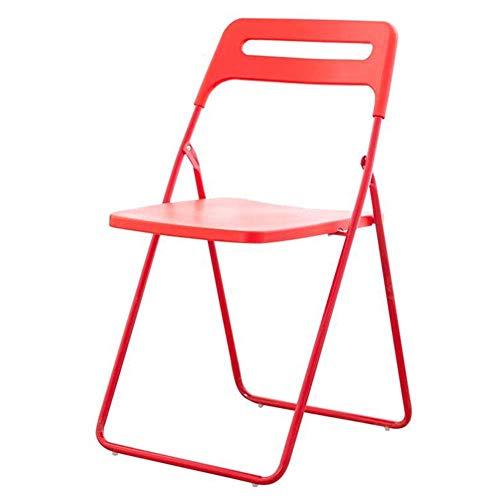 QQXX klapstoel kunststof stoel bureau bureaustoelen metalen frame lounge computer stoel trainingsstoel kluis draagbaar (kleur: groen, grootte: 4 stuks) 4 stuks 1 pieces 22