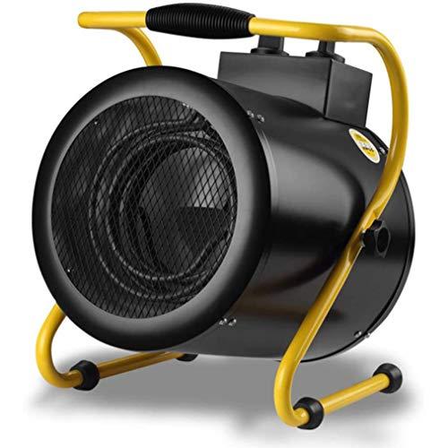 JCJ-Shop Calentador De Patio 3KW, con Ajuste De Varias Velocidades E IPX4 A Prueba De Agua, Puede Cubrir 20-30 Metros Cuadrados De Espacio Calentadores De Escritorio Al Aire Libre