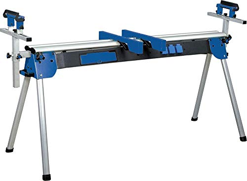 Holzkraft Universal Werktisch UWT 3200, ausziehbar bis 2,4 m, (für Kappsägen / Bandschleifer usw.), klappbar, 5900020