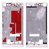 O-OBDO Marco de pantalla frontal de repuesto para teléfono móvil Huawei Ascend P7, pieza de reparación de teléfono celular (color blanco)