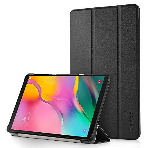Hianjoo Custodia Compatibile per Samsung Galaxy Tab A 10.1 (2019), Ultra Leggera Protettiva Cover Compatibile con Samsung Galaxy Tab A 10.1 Pollici (2019) SM-T515 - Nero