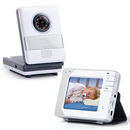 Moltó 12732 - Vigilabebés con pantalla táctil, color blanco