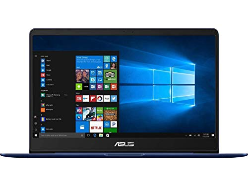 "ASUS ZenBook UX430UN Laptop: 14"" Matte NanoEdge FHD (1920x1080), 8th Gen Intel Core i7-8550U, 256GB SSD, 8GB RAM, NVIDIA MX150 Graphics,Fingerprint Reader, Backlit Keyboard, Win10 with Sleeve"