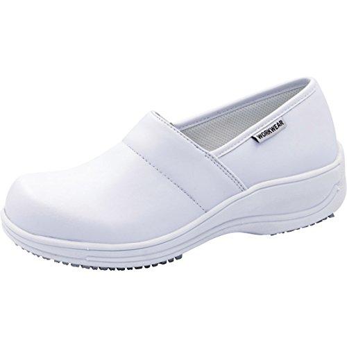 CHEROKEE Women's NOLA Shoes, White, 9 M US