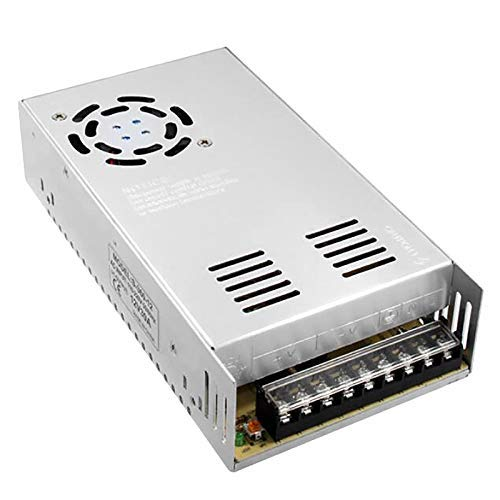 OGUAN 12V 30A Universal Regulated Switching Power Supply 360W for CCTV, Radio, Computer Project, LED Strip Lights, 3D Printer