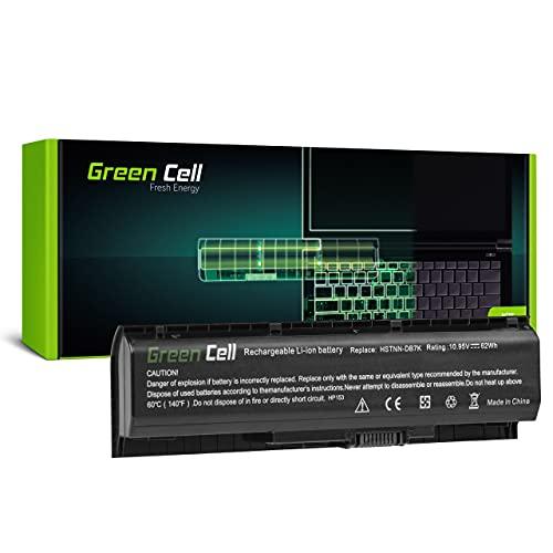 Green Cell Akku für HP Pavilion 17-AB424UR 17-AB425NG 17-AB425UR 17-AB426UR 17-AB427UR 17-AB428UR 17-AB429UR 17-AB430NG 17-AB430UR 17-AB431NG Laptop (5400mAh 10.95V Schwarz)