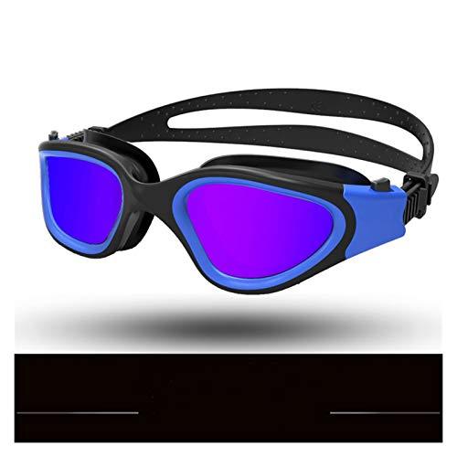 Clong01 Gafas de natación Gafas de Agua Gafas de baño Profesional Adulto Impermeable Natación Anti-Ultravioleta Gafas Ajustables Piscina Gafas para Hombres Adultos Mujeres jóvenes