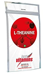 Just Vitamins L-Theanine 200mg 120 Vegetarian Capsules