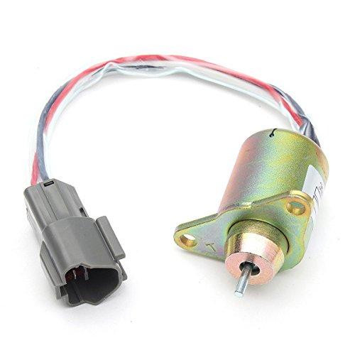 Viviance ZHVIVY 1 stuk brandstofuitschakeling magneetventiel metaal voor vervanging Yanmar 119233-77932