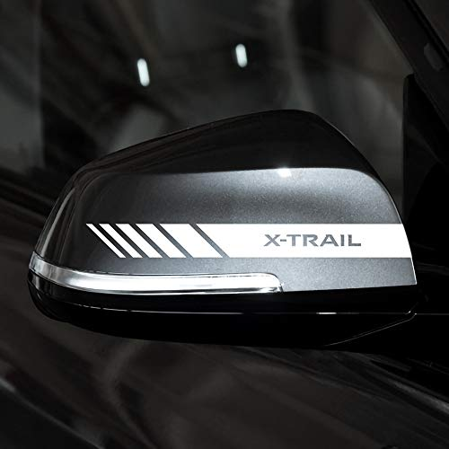 Pegatinas De Espejo Retrovisor, Accesorios De Estilo De Coche, Espejo Retrovisor, Para Nissan X-Trail