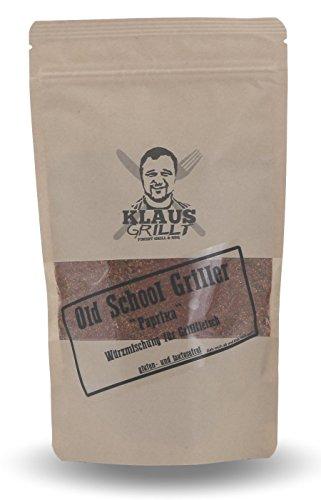 Klaus Grillt - Old School Griller (Paprika) 250 g Standbeutel