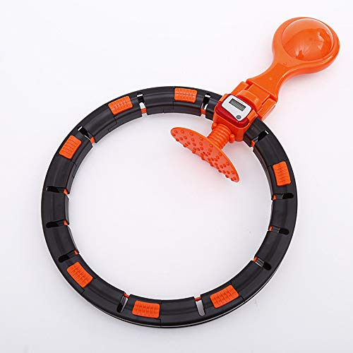Best Review Of Smart Hula Hoop, Auto-Spinning Hoop, 360 Degree Adjustable Hoop with Portable Countin...