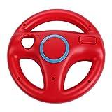 AMEEGO GN-006 Soporte de diseño de volante Mario Kart Racing Game Soporte de volante para Wii Game Controller (rojo)