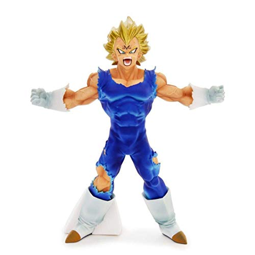 Banpresto 604727' Scultures Dragon Ball Z-Bos-Maijin Vegeta Action Figure, 17 cm