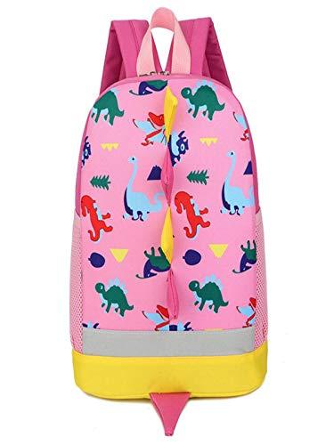 Rugzak kinderen meisjes en jongens schoudertas kleuterschool schoolrugzak waterdichte schooltassen roze