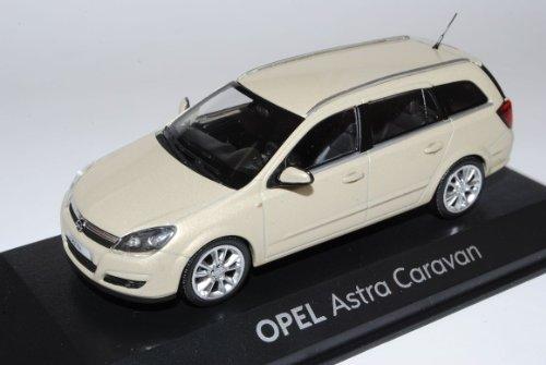 Bester der welt Minichamps Opel Astra Wohnwagen H Combi Beige 2004-2010 Modell 1/43 Stück…