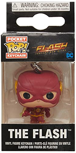 Funko 52022 POP Keychain: The Flash- The Flash