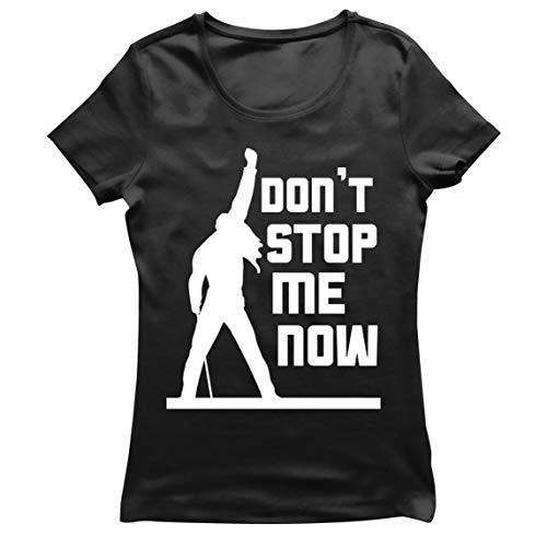 Ladies Queen Freddie Mercury Don't Stop Me Now T-shirt, 7 Colours, S to XXL