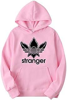 Sudadera Stranger Things Hombres, Sudadera Stranger Things Mujer con Capucha Niña y Niños Deporte Casual Impresión Suéter ...