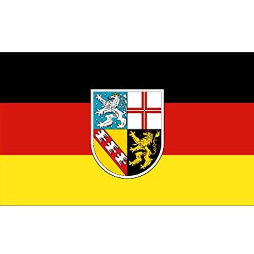 Flaggen, Fahnen, deutsche Bundesländer, 150x90cm (Saarland, 150x90cm)