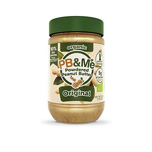 Sabah Naturals Originale Burro di Arachidi Biologico in Polvere Barattolo - 200 g