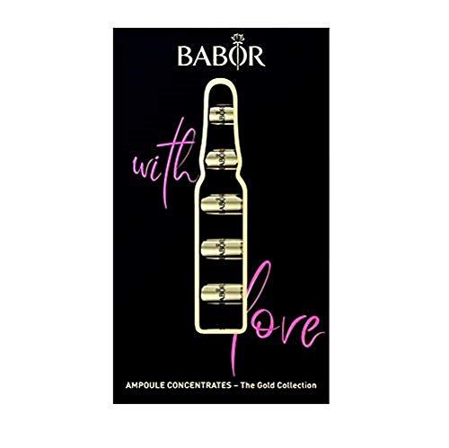 BABOR Ampoule Concentrates Geschenkset Gold Edition, Feuchtigkeitsspendende Ampullen, Beautybox, 7x2 Ml