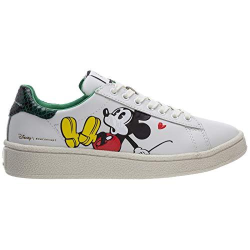 MOA Master of Arts Damen Disney Sneaker Bianco 37 EU