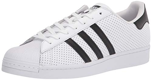 adidas Originals Men's Superstar Shoe Running Core Black/White