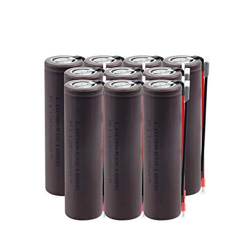 NHFGJ 20a 18650 Hg2 De Alta Descarga De Alta Corriente DIY 3,7 v 3000 Mah Batería Recargable De Alto Drenaje para Vape 1PCS