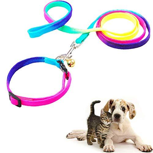 shuxuanltd Correa Perro Adiestramiento Correas para Perros Cuerda Deslizante para Perros Collares y Cables para Perros medianos Perro cómodo