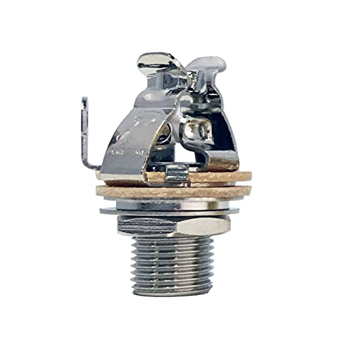 Pure Tone Mono Multi-Contact 1/4 inch Output Jack - Nickel