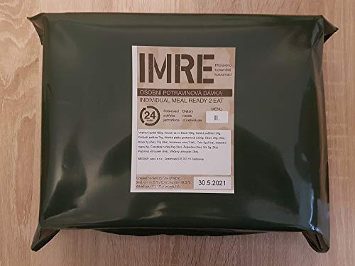 Armee CZ EPA MRE 24H MENÜ 2 TSCHECHISCHES IMRE Meal Ready to EAT Army Food NOTRATION Field Ration