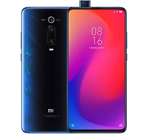 Xiaomi Mi 9T Pro (128GB, 6GB RAM) 6.39' Display, Snapdragon 855, AI Rear Triple Camera, Dual SIM GSM Factory Unlocked - US & Global 4G LTE International Version (Glacier Blue)