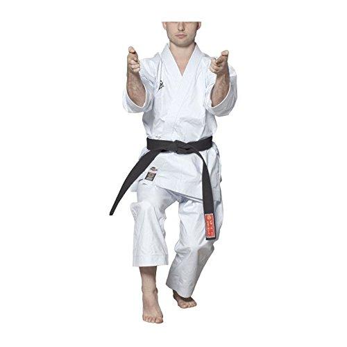 Hayashi 027–Kimono de Karate Unisex, Unisex Adulto, Color Blanco, tamaño 160 cm
