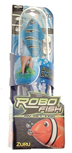 My Pet Fish Robo Fish Blue Fish with Extra Set of Batteries by RoboFish