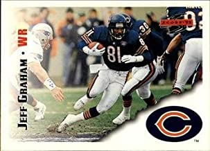 Jeff Graham 1995 Score NFL Football Card #72 Chicago Bears