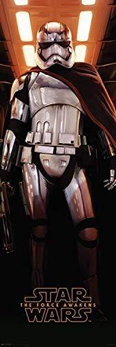 Close Up Star Wars: Episode VII - Das Erwachen Der Macht Tür-Poster: Captain Phasma