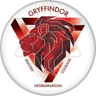 Ata-Boy Harry Potter Elemental Gryffindor Crest 1.25' Collectible Pin-Back Button