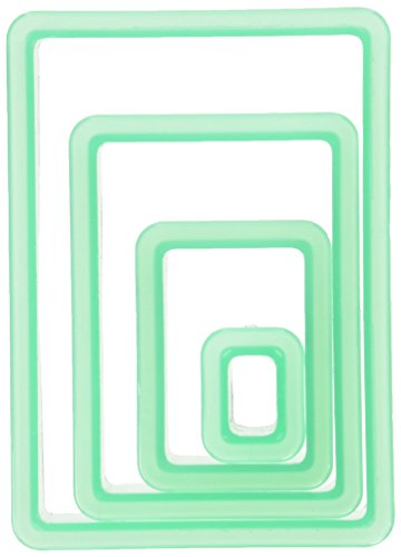 4 Piece Nested Rectangle Cookie Cutter
