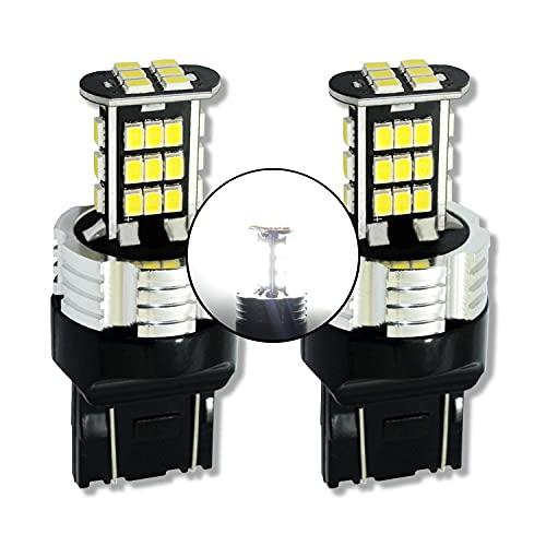 MCK Auto - Sostituzione per T20 7443 W21/5W LED CanBus Set di lampadine bianche molto chiare e senza errori compatibili con A1 F20 F21