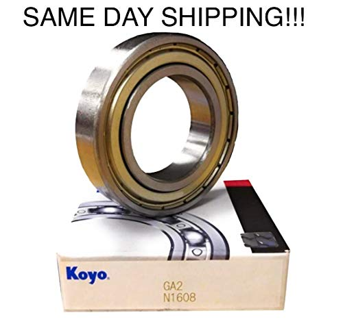 KOYO 6203 ZZ Deep Groove Ball Bearings 17 x 40 x 12mm Same Day Shipping !!!