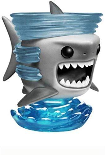 NoNo Wunderschön Sharknado Pop Figura 2010 Anno # 10 Serie Figura PVC inscatolato Regalo Statua 10CM