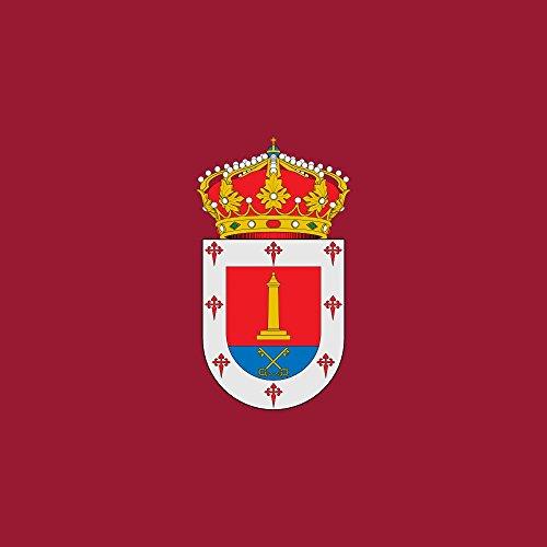 magFlags Bandera Large Municipio de Villalar de los Comuneros Castilla y León | 1.35m² | 120x120cm