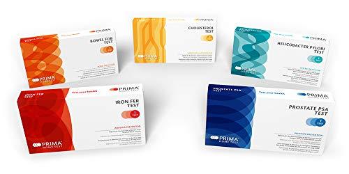 Prima Home Test Healthy Box Fur Ihn Kolon Rektum Fob Test Prostata Psa Test Eisenmangelanamie Test Helicobacter Pylori Test Cholesterin