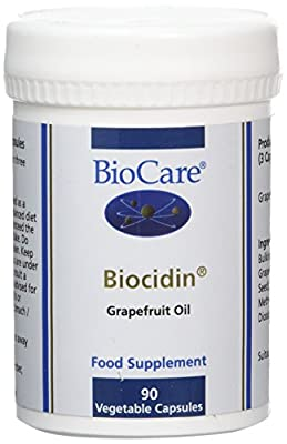 Biocare Biocidin Vegetable - Pack of 90 Capsules